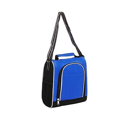 Natico Blue Polyester Insulated Lunch Bag (60-LN-20BL)