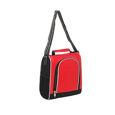 Natico Red Polyester Insulated Lunch Bag (60-LN-20RD)