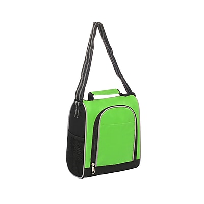 Natico Green Polyester Insulated Lunch Bag (60-LN-20GN)