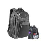 Natico Black Polyester Transit Backpack (60-BP-67BK)