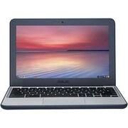 "ASUS® C202SA 11.6"" Chromebook, HD, Intel Celeron N3060, 16GB EEMC, 4GB RAM, Chrome, Blue/Silver"