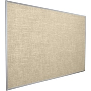 Best Rite Vin Tak Vinyl Bulletin Board, Aluminum Trim, Cotton Vinyl, 3'H x 5'W (311AE 46) by