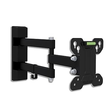 QualGear Universal Low Profile Full Motion Wall Mount for TVs 13