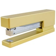 JAM Paper® Colorful Staplers, Gold Stapler, Sold Individually (337go)