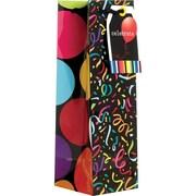 JAM Paper® Design Wine Bags, Confetti, 120/case (678JBBT239)