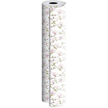 JAM Paper® Industrial Size Wrapping Paper Rolls, Magnolia, 30