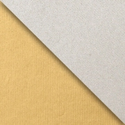 JAM Paper Industrial Size Wrapping Paper Rolls, Kraft Gold & Silver, 1/2 Ream (834 Sq. Ft), Each (165J99524417)