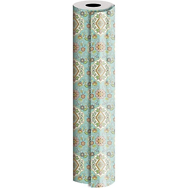 JAM Paper® Industrial Size Wrapping Paper Rolls, Tapestry, 30