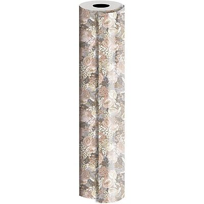 JAM Paper Industrial Size Wrapping Paper Rolls,