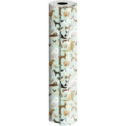 JAM Paper® Industrial Size Wrapping Paper Rolls, Best in Show, 1/2 Ream (834 Sq. Ft), Sold Individually (165J17124417)