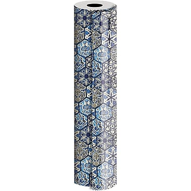 JAM Paper® Industrial Size Wrapping Paper Rolls, Morocco, 24