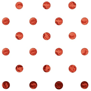 JAM Paper® Design Gift Tissue, Red Polka Dots, 20