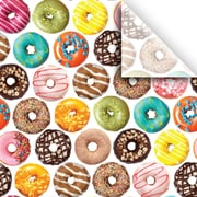 JAM Paper® Printed Gift Tissue, Donuts, 20 x 30 Inches, 240 Sheets (115BPT2191)
