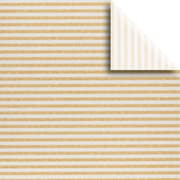 JAM Paper® Printed Gift Tissue, Silver Gold Stripe, 20 x 30 Inches, 240 Sheets (115BPT3371)