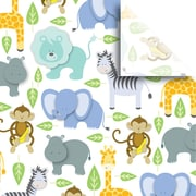 JAM Paper® Printed Gift Tissue, Zoo, 20 x 30 Inches, 240 Sheets (115BPT2681)