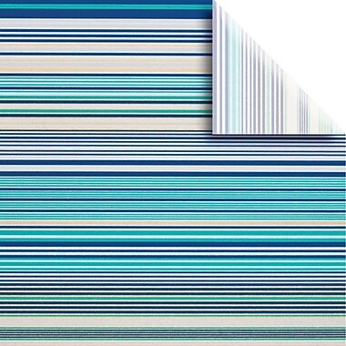 JAM Paper® Printed Gift Tissue, Bold Stripe, 20 x 30 Inches, 240/Pack (115BPT3721)