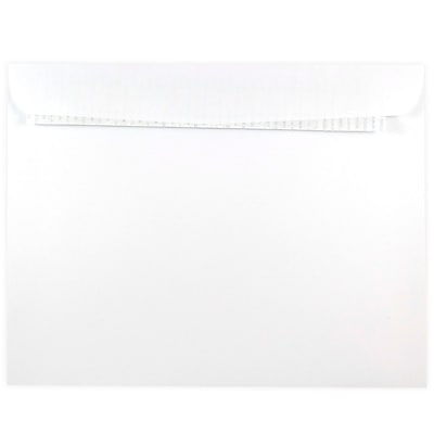 JAM Paper® 9 x 12 Booklet Envelope with Self Adhesive Closure, White, 1000/box (356828785b)