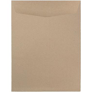 JAM Paper® 9 x 12 Open End Catalog Envelopes, Brown Kraft Paper Bag, 25/pack (6315446a)