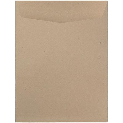 JAM Paper® 9 x 12 Open End Catalog Envelopes, Brown Kraft Paper Bag, 50/pack (6315446i)