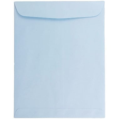 JAM Paper® 9 x 12 Open End Catalog Envelopes, Baby Blue, 25/Pack