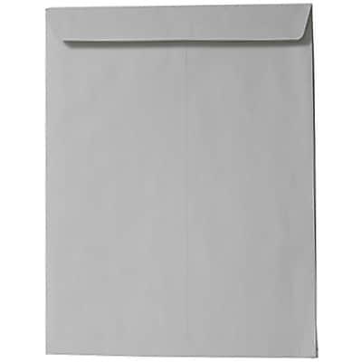 JAM Paper® 9 x 12 Open End Catalog Envelopes, Grey, 10/pack (1293961p)