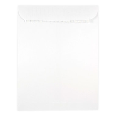 JAM Paper® 9.5 x 12.5 Envelopes with Self Adhesive Closure, White, 25/Pack