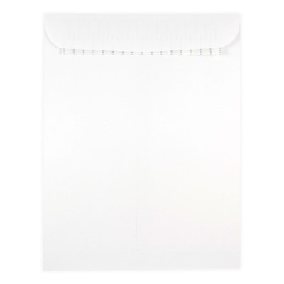 JAM Paper® 9.5 x 12.5 Envelopes with Self Adhesive Closure, White, 50/box (356828781i)