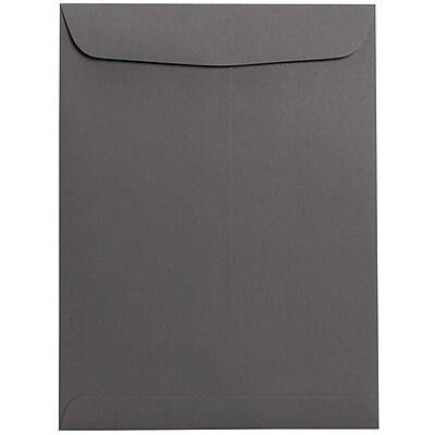 JAM Paper® 9 x 12 Open End Catalog Envelopes, Dark Gray, 50/pack (21285783i)