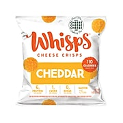 Whisps Cheddar Cheese Crisps, 0.63 oz, 28/Pack (307-00223)