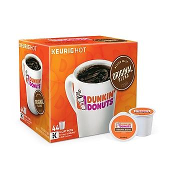 Dunkin' Donuts Original Blend Coffee, Keurig® K-Cup® Pods, Medium Roast, 44/Box (006933)