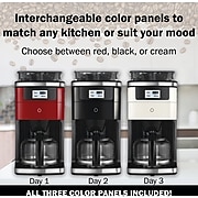 Smarter 12-Cup Automatic Coffee Maker, Assorted Colors (SMARTCOFF.1)