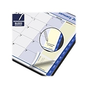"""2022 AT-A-GLANCE 7"""" x 8.75"""" Monthly Planner, QuickNotes, Black (76-08-05-22)"""