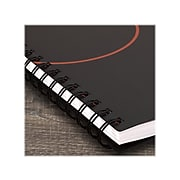 """AT-A-GLANCE 8.5"""" x 11"""" Planning Notebook, Plan. Write. Remember., Black, Refurbished (70-6209-05-22)"""