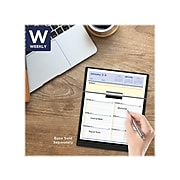 "2022 AT-A-GLANCE 7"" x 6"" Weekly Calendar Refill, Flip-A-Week, White (SW706-50-22)"