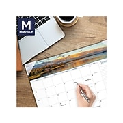 """2022 AT-A-GLANCE 17"""" x 21.75"""" Monthly Calendar, Landscape Panoramic, Multicolor (89802-22)"""