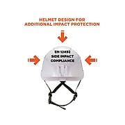 Skullerz 8975 Safety Helmet, White (60204)