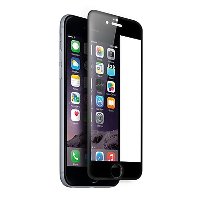 Kyasi Gladiator Glass Ballistic 3D Curved Tempered Glass Screen Protector For iPhone 7, Black