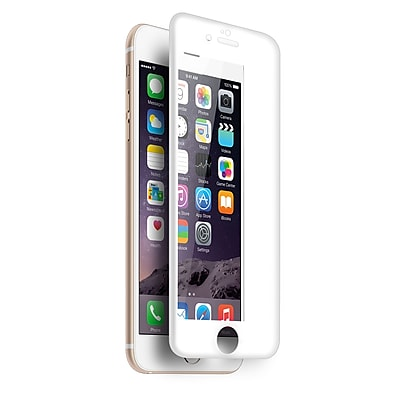 Kyasi Gladiator Glass Ballistic 3D Curved Tempered Glass Screen Protector For Iphone 7, White