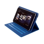 """Kyasi Seattle Classic Universal Folio Tablet Case For Sizes 9"""" - 10"""", October Blue"""