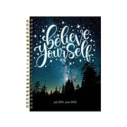 "2021-2022 TF Publishing Academic 8.5"" x 11"" Weekly & Monthly Planner, Indigo Blues, Multicolor (22-9055A)"