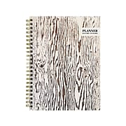 """2021-2022 TF Publishing Academic 6"""" x 8"""" Weekly & Monthly Planner, Drift Wood, Beige/Brown (22-9265A)"""