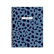 "2021-2022 TF Publishing Academic 8.5"" x 11"" Weekly & Monthly Planner, Indigo Blues Series, Blue Cheetah (22-9714A)"