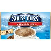 Swiss Miss Milk Chocolate Cocoa, 0.73 Oz., 50/Box (GOV47491)