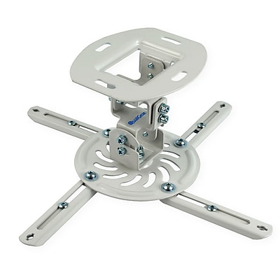 Qualgear Projector Ceiling Mount, White (Qg-Pm-002-Wht-S)