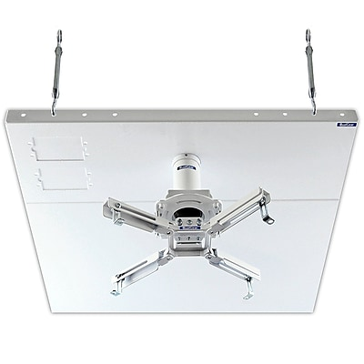 Qualgear Pro-Av Projector Mount Kit W/ Suspended Ceiling 2'X2' Adapter & 3