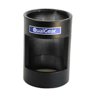 """Qualgear Pro-Av 1.5"""" Npt Threaded Pipe Connector With Opening Projector Accessory, Black (Qg-Pro-Pm-Pco-B)"""