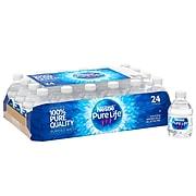 Nestle Pure Life Purified Water, 8 Fl oz., 24/Carton (11476087)