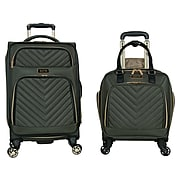 Kenneth Cole Polyester 2-Piece Luggage Set, Olive (5717836)