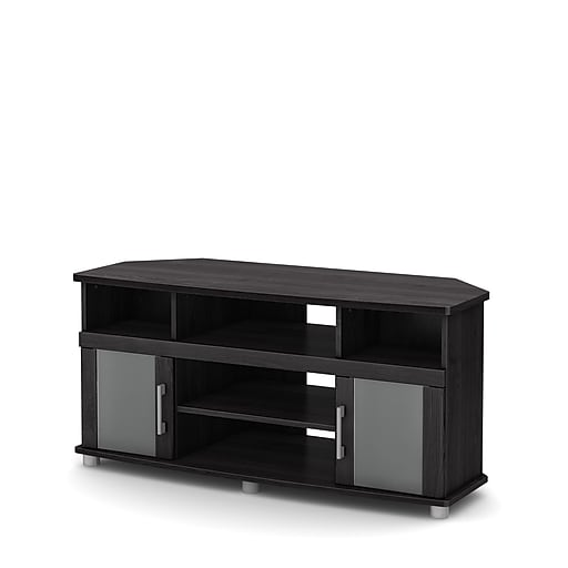 South Shore City Life Laminated Particleboard Corner Tv Stand For