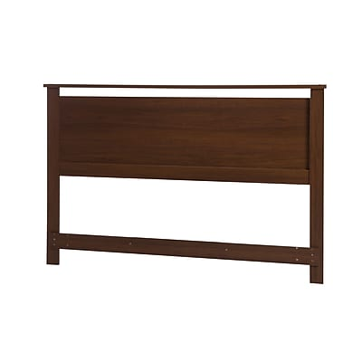 South Shore Primo Full/Queen Laminated Headboard, Brown Walnut (10337)